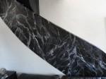 faux marbre rampe escalier